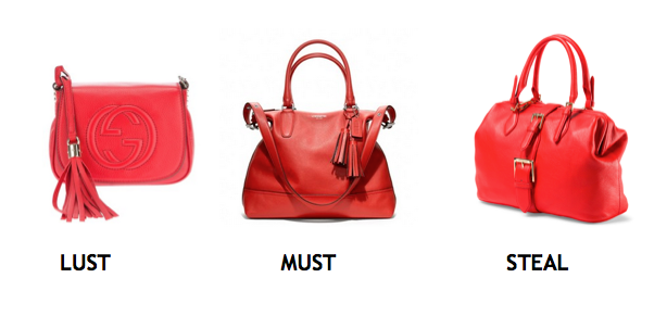 From Left to Right: Gucci, Coach & Isaac Mizrahi