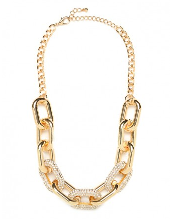 Pave Links Necklace