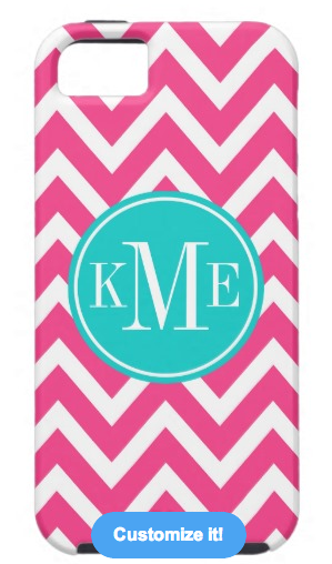 Monogram iPhone 5 Case