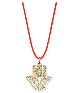 10K Gold Hamsa Pendant at Macy's