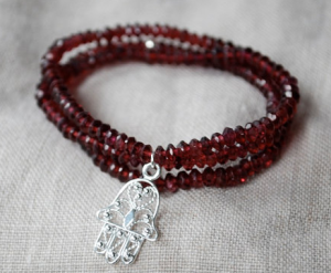 Fringes Of Faith 'Hamsa' Bracelet on Etsy