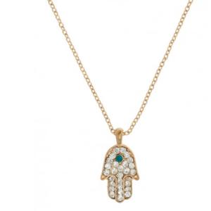 Hamsa 'Opal' Pendant at BaubleBar