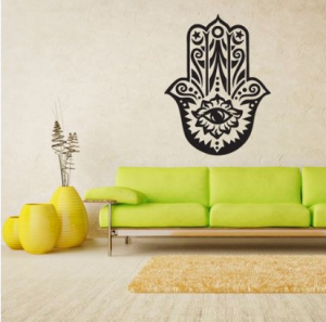 Hamsa Hand 'Wall Sticker' at Amazon