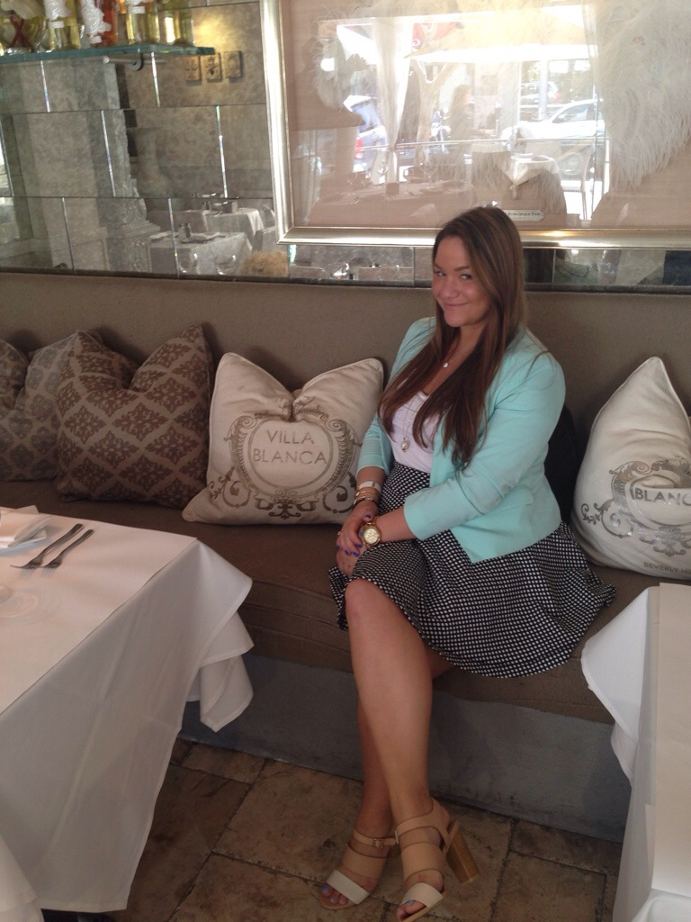 Villa Blanca Beverly Hills Food Lunch RHOBH Lisa Vanderpump MissyOnMadison Blogger LA California