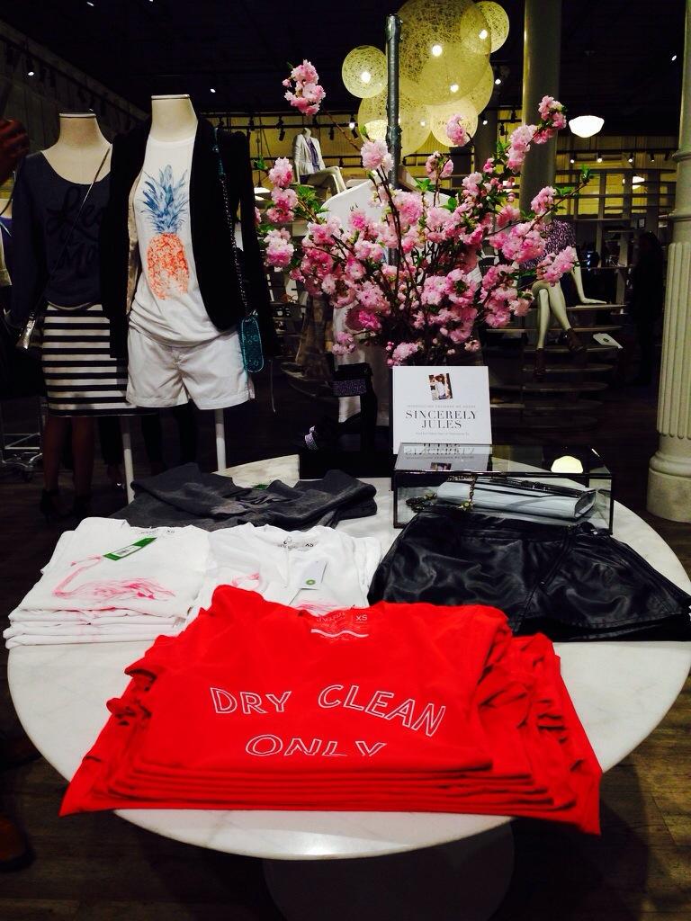 blog blogger fashion blog missyonmadison piperlime sincerely jules nyc soho pop up shop t shirts tee shirt shop style fashion