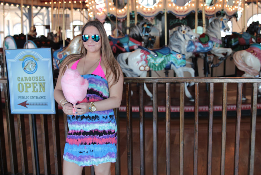 cottoncandy la cali california missyonmadison neon fashion fashionblog santamonicapier blogger fashionblogger style beach